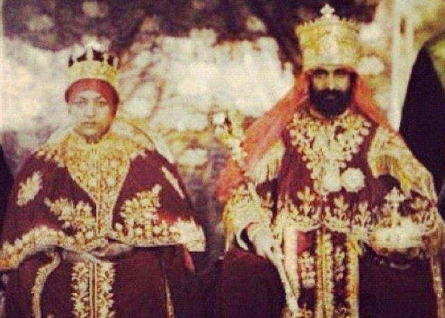 Coronation of Haile Selassie I and Empress Menen
