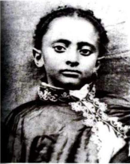 The young Lij Tafari