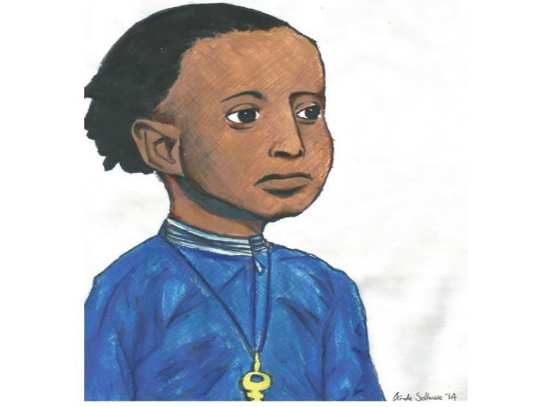 Painting of Lij Tafari