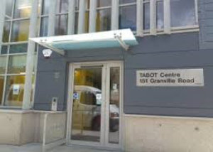 The entrance to the TABOT Centre